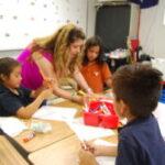 Summer school classroom