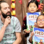 Two Popular Authors Bring Books to Life at UT Elementary