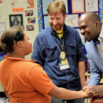 Kamukama Foundation Director Visits UT Elementary School