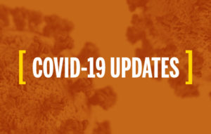 COVID-19 Updates sidebar graphic