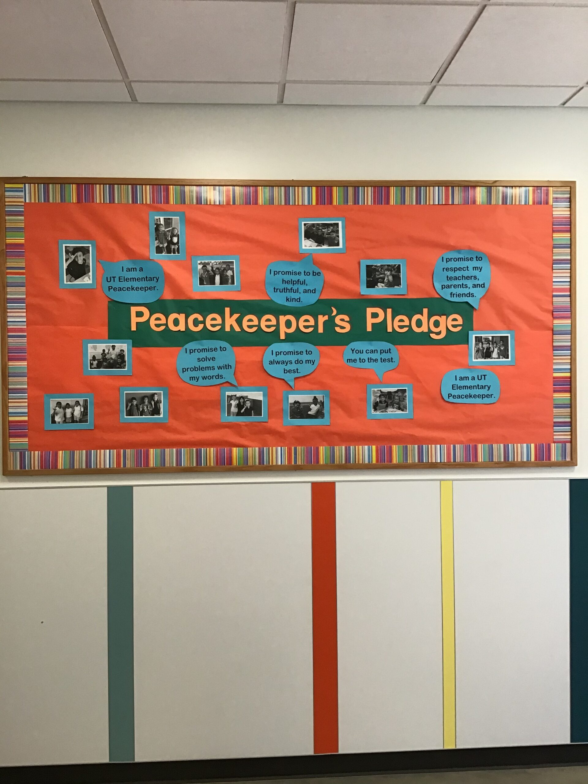 Peacekeeper pledge