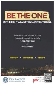 Anti Human Trafficking