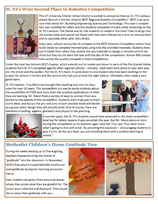 January 2021 Newsletter page 2