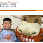 UTES Student with Hook'Em